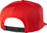 Lampson Snapback Flame Red - kšiltovka