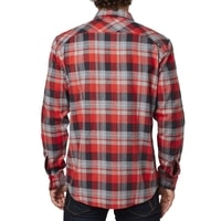 Traildust Ls Flannel Flame Red - košile