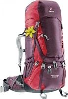 Aircontact 60 + 10 SL aubergine-cranberry - turistický batoh turistický batoh