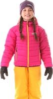 NBWJK5908L ALLEGIANCE tmavě růžová - dětská zimní bunda Dětská zimní bunda