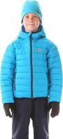 NBWJK5909L WILL azurová modrá - dětská zimní bunda Dětská zimní bunda