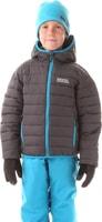 NBWJK5909L WILL grafit - dětská zimní bunda Dětská zimní bunda