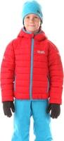 NBWJK5909L WILL tmavě červená - dětská zimní bunda Dětská zimní bunda