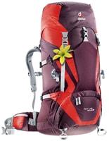 ACT Lite 45+10 SL aubergine-fire - dámský turistický batoh dámský turistický batoh