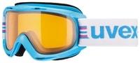 SLIDER, cyan lasergold lyžařské brýle