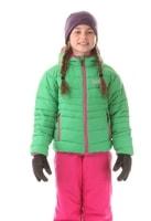NBWJK5908S ALLEGIANCE amazonská zelená - dětská zimní bunda dětská zimní bunda