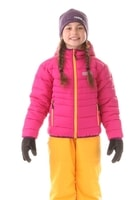 NBWJK5908S ALLEGIANCE tmavě růžová - dětská zimní bunda dětská zimní bunda
