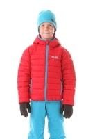 NBWJK5909S WILL tmavě červená - Dětská zimní bunda Dětská zimní bunda