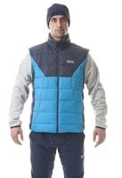 NBWJM5814 ROCKER azurová modrá - pánská zimní vesta Pánská zimní vesta