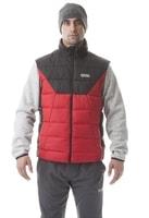 NBWJM5814 ROCKER tmavě červená - pánská zimní vesta Pánská zimní vesta