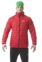 NBWJM5816 FRUGAL tmavě červená - pánská zimní bunda Pánská zimní bunda