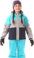 NBWJK5905S WANT bazénově modrá - Dětská zimní bunda Dětská zimní bunda