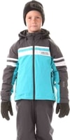 NBWJK5906L YEARN bazénově modrá - Dětská zimní bunda Dětská zimní bunda