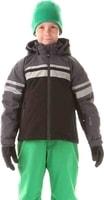 NBWJK5906L YEARN crystal černá - Dětská zimní bunda Dětská zimní bunda