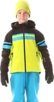 NBWJK5906L YEARN jasně zelená - Dětská zimní bunda Dětská zimní bunda