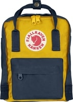 Kanken Mini navy-warm yellow 7l - batoh