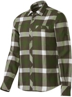 Belluno Winter Shirt Men seaweed-dark flint