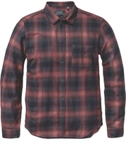 Exchange LS Shirt Oxblood