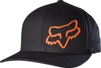 Forty Five 110 Snapback, black/orange