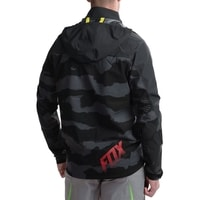 Racing Pánská bunda Downpour Jkt Black Camo