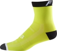 "6"" Logo Trail Sock, flo yellow"