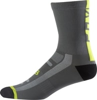 "8"" Logo Trail Sock, graphite yellow"