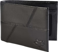 Edge Leather Wallet, black