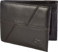 Edge Leather Wallet, brown