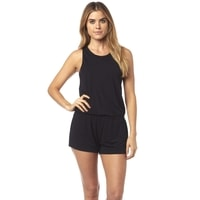 Refrraction Romper, black