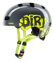 Kid 3 dirtbike grey-lime