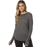 Contoured Ls Hoody Heather Grey