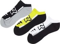 Perf No Show Socks - 3 Pack Flo Yellow