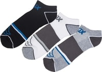 Tech Midi Socks - 3 Pack Heather Grey