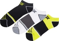 Tech Midi Socks - 3 Pack Flo Yellow