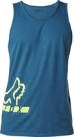 Displaced Premium Tank Heather Maui Blue