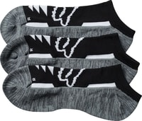 Tech Midi Socks - 3 Pack Black