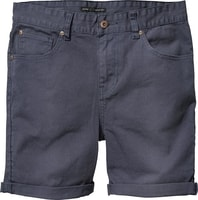 Goodstock Denim Walkshort, shady blue