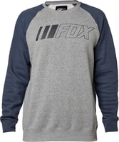 Crewz Crew Fleece Heather Graphite