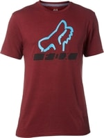 Triangulate Ss Tech Tee Heather Red