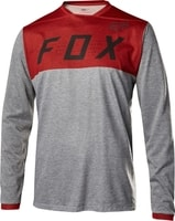 Indicator Ls Jersey Heather Red