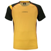 Apex T-Shirt S Men black/yellow