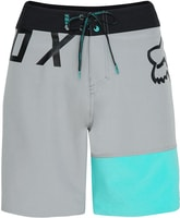 Flight Moth Boardshort, aqua akce