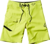 Youth Overhead Boardshort Flo Yellow