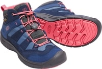 HIKEPORT MID WP JR, blues/sugar coral