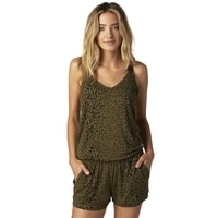 15990 099 CONTEST ROMPER Olive Green - šaty akce