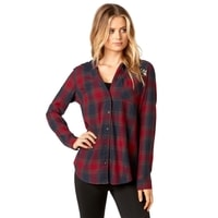 Deny Flannel, dark red