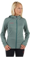Runbold ML Hooded Jacket Women Bottle melange