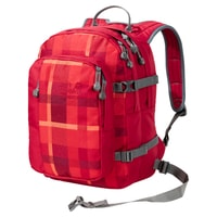 BERKELEY S 23 indian red woven check