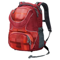 RAMSON 26 PACK indian red woven check