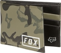 Camo Pinned Pu Wallet, camo